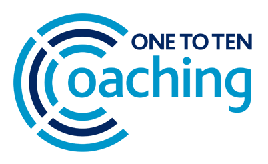 One to Ten Coaching Newsletter